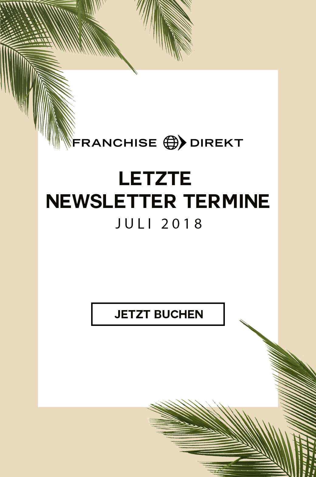 Juli Newsletter Angebot Header