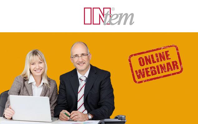 INtem-Webinar: Jetzt anmelden
